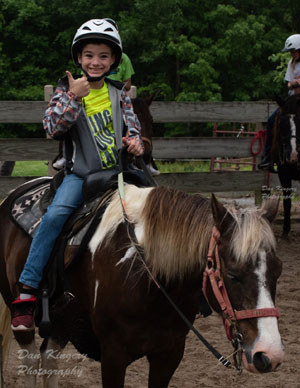 Horseback Riding at Camp Carew.